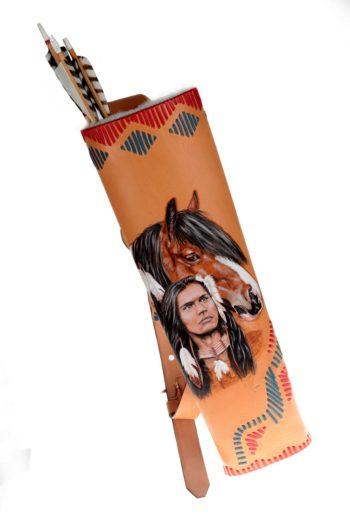 """Carquois de dos """"Native American"""""""