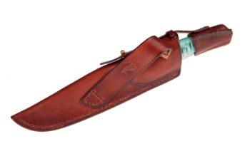 Maryline Lecourtier. Artisan du cuir | Nautical knife sheath