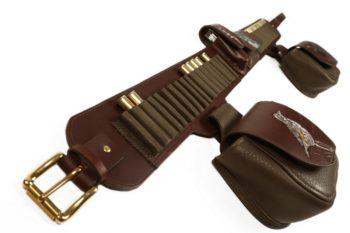 Cartouchière calibre 410, cartridge belt 410 caliber