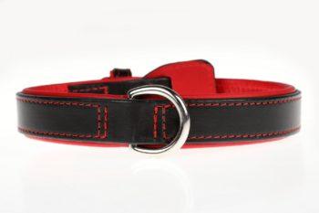 Maryline Lecourtier. Artisan du cuir - Adjustable leash and dog collar