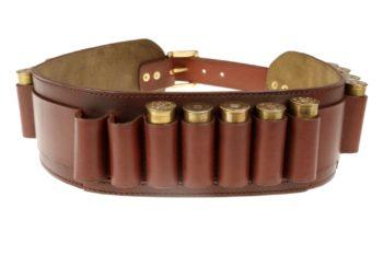 Maryline Lecourtier. Artisan du cuir - 410 caliber cartridge belt