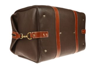 Maryline Lecourtier. Artisan du cuir - Leather travel bag