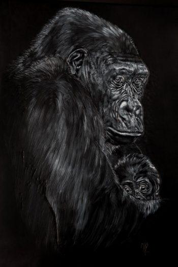 Tableau Gorilles