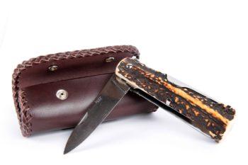 Etui pour couteau pliant, folding knife sheath