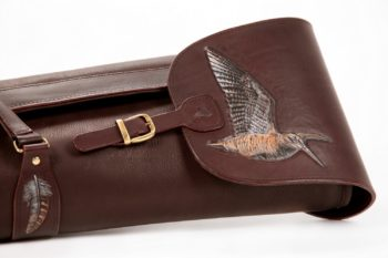 Maryline Lecourtier. Artisan du cuir | Case for woodcock rifle
