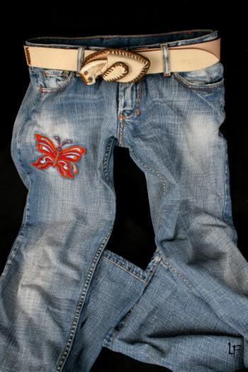 Etui boucle de ceinture, Belt buckle holster