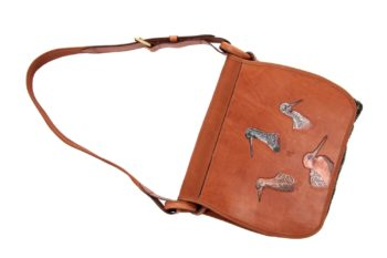 Maryline Lecourtier. Artisan du cuir - Leather hunting set
