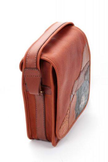 sac en cuir de buffle, buffalo leather bag