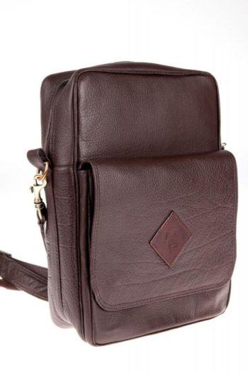 Sac pour homme en cuir, buffalo leather bag for mende buffle
