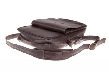 Sac pour homme en cuir de buffle, buffalo leather bag for men