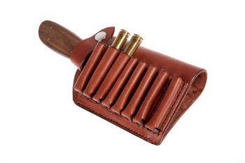 etui pour couteau et munitions - knife and ammo sheath