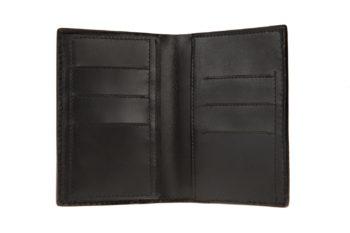 portefeuille en cuir, wallet in leather