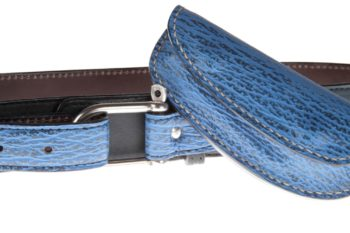 Etui en cuir de requin, sheath in shark skin