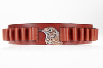 Maryline Lecourtier. Artisan du cuir | Personalized cartridge belt