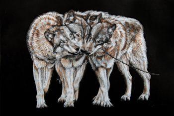 Tableau Loups