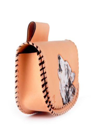 Maryline Lecourtier. Artisan du cuir | Belt bag