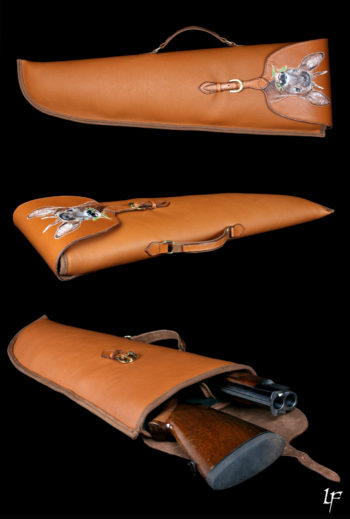 etui jambon, rifle case