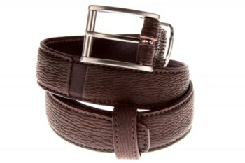 Maryline Lecourtier. Artisan du cuir - Shark leather belt