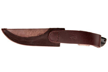 "Maryline Lecourtier. Artisan du cuir | Knife sheath ""Africa"""