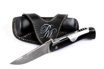 Etui pour pliant Mongin, Folding knife for Mongin