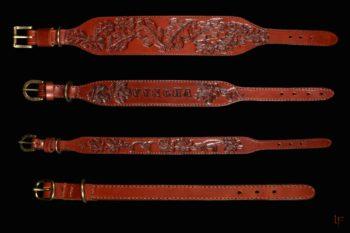 Maryline Lecourtier. Artisan du cuir | Colliers pour chiens