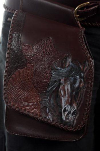 ceinture et pochette de hanche, hip belt and pouch