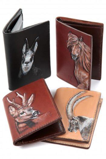 portefeuille en cuir, wallet