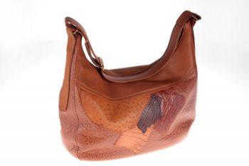 Maryline Lecourtier. Artisan du cuir - Woman handbag